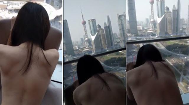 Isteri Curang, Lakukan Seks Menghadap Bangunan Pencakar Langit Viral