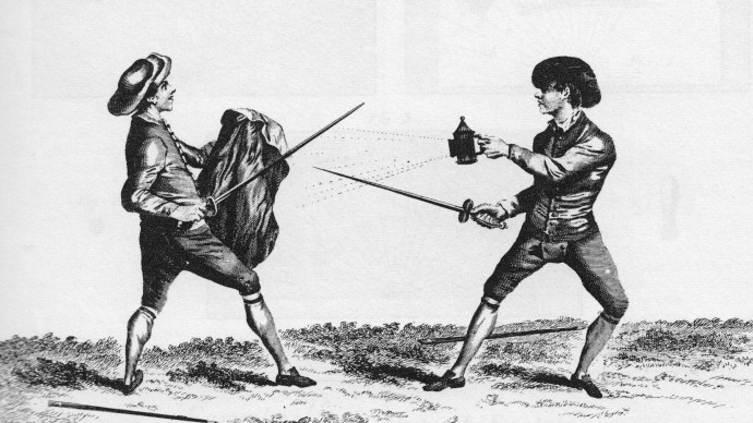 A Woodsrunner's Diary: Anything Goes in 18th Century Sword