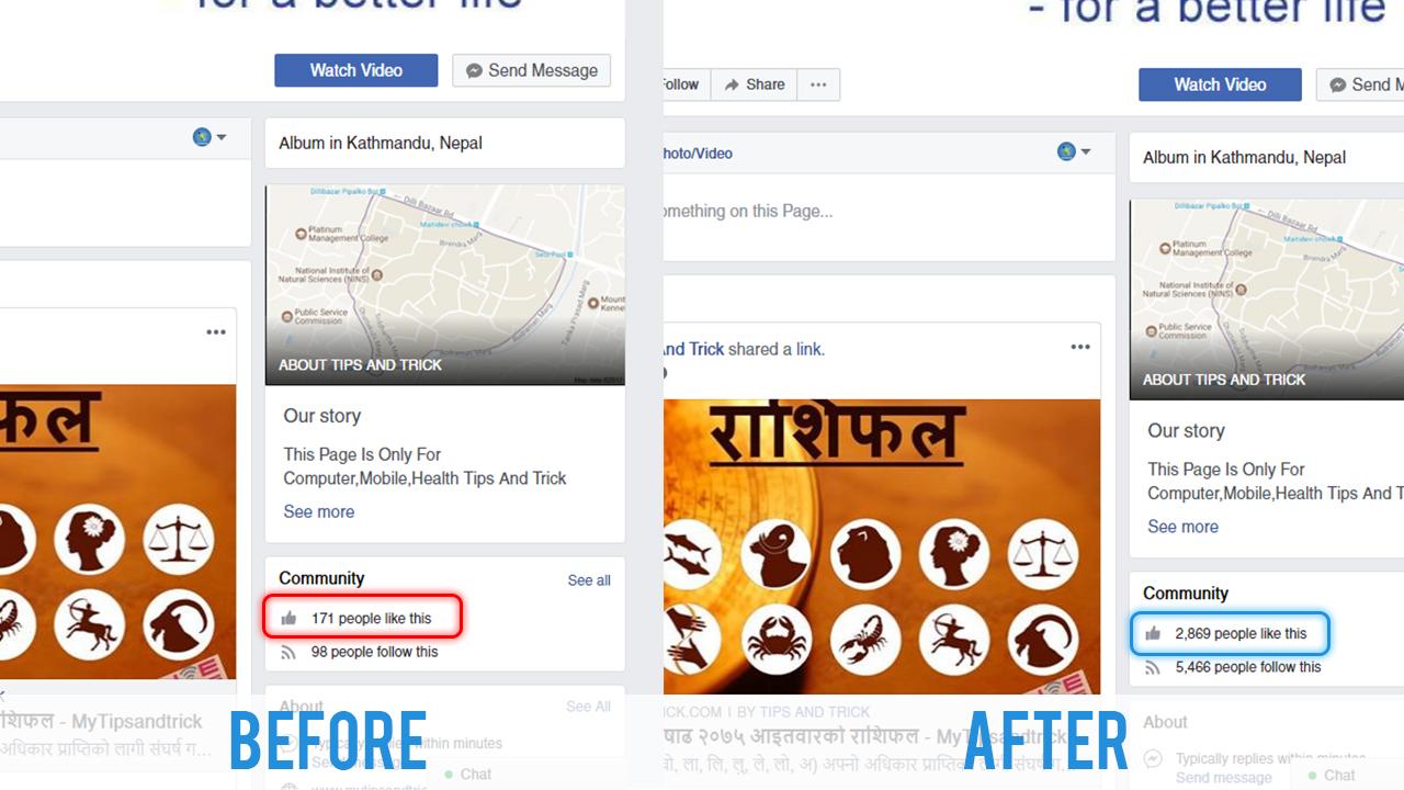 Facebook Page Liker