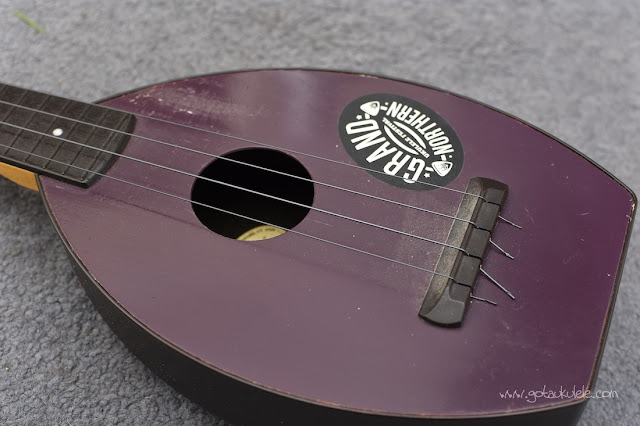 Flea Soprano Ukulele top