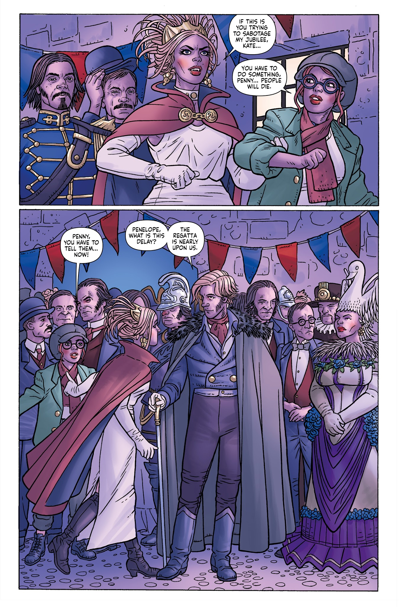 Read online Anno Dracula comic -  Issue #4 - 18