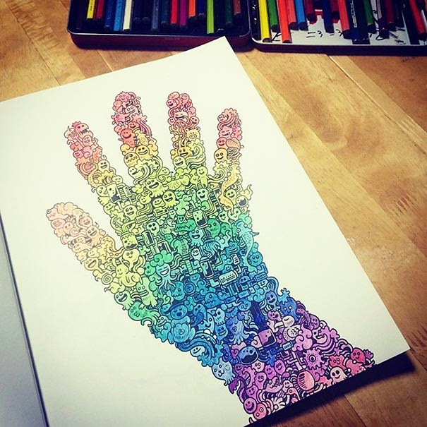 Libro de bocetos para colorear