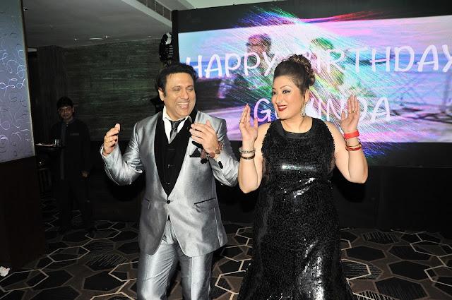 3. Govinda with wife Sunita Ahuja