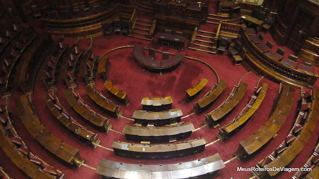 Câmara dos Deputados no Palácio Legislativo - Montevidéu, Uruguai
