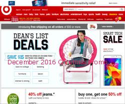 Target coupons december