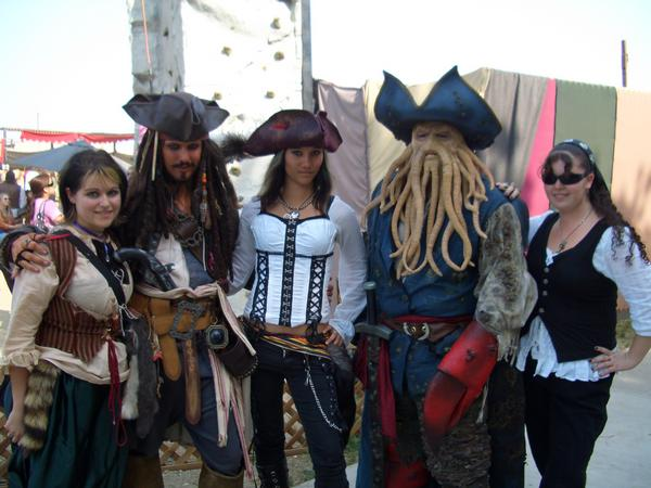 Renaissance Fairs: The Pirate Empire: A Study Of The Species