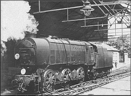 Q1 in Gosport station 1962