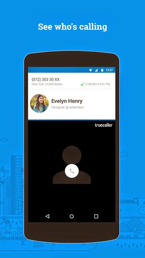 تحميل تطبيق ترو كولر Truecaller للاندرويد برابط مباش صور لوجو logo
