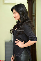 Shruti Haasan Looks Stunning trendy cool in Black relaxed Shirt and Tight Leather Pants ~ .com Exclusive Pics 062.jpg