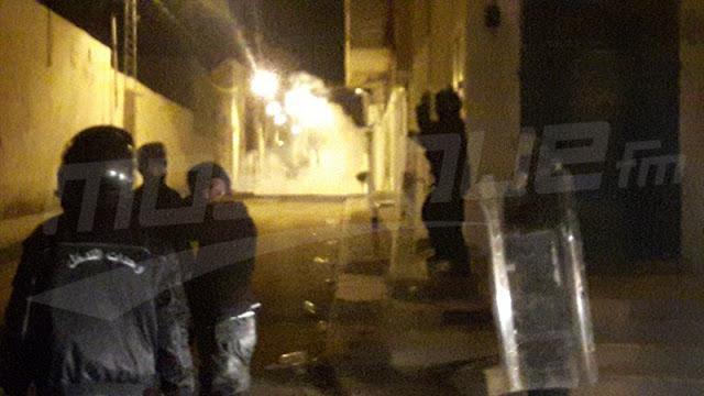 باجة : تجدد المواجهات في حي مزارة