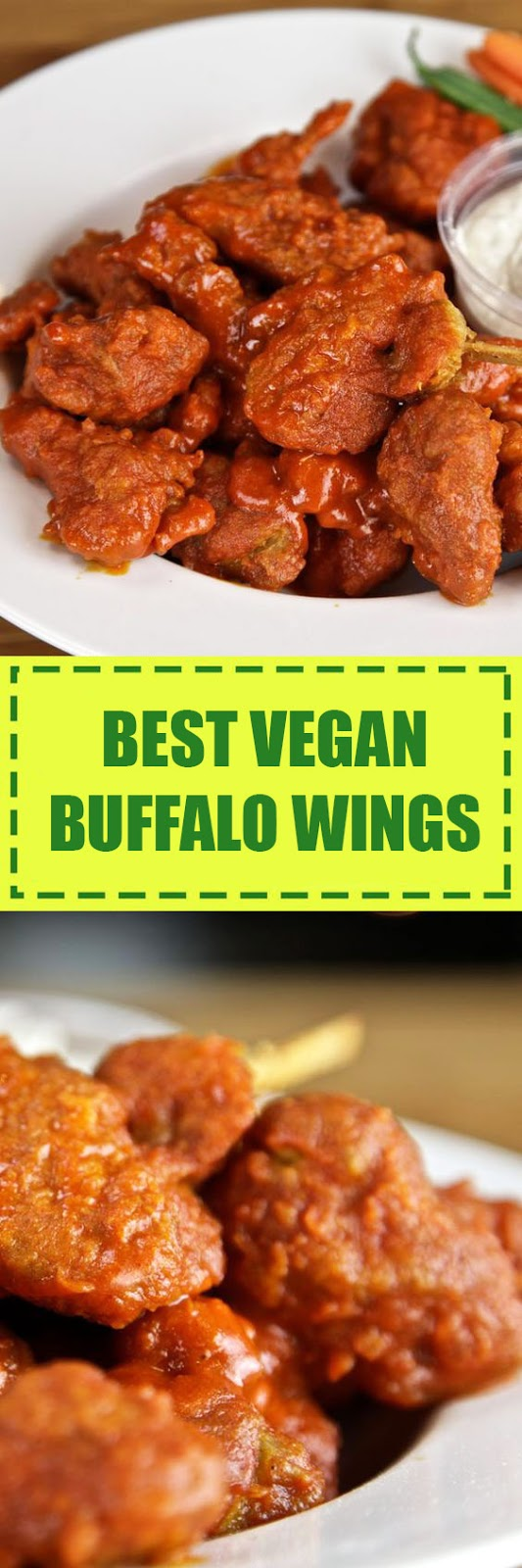 Vegan Buffalo Wings Recipe