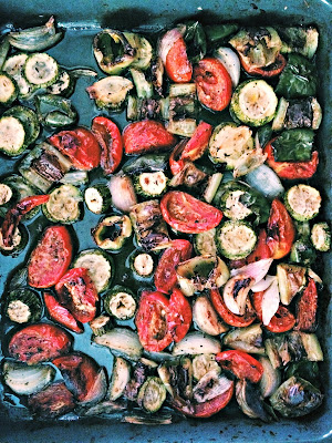 Oven baked roasted vegetables  recipe