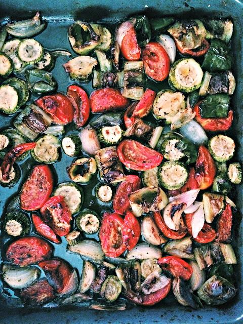 Oven Roasted Vegetables - Ψητά Λαχανικά στον Φούρνο