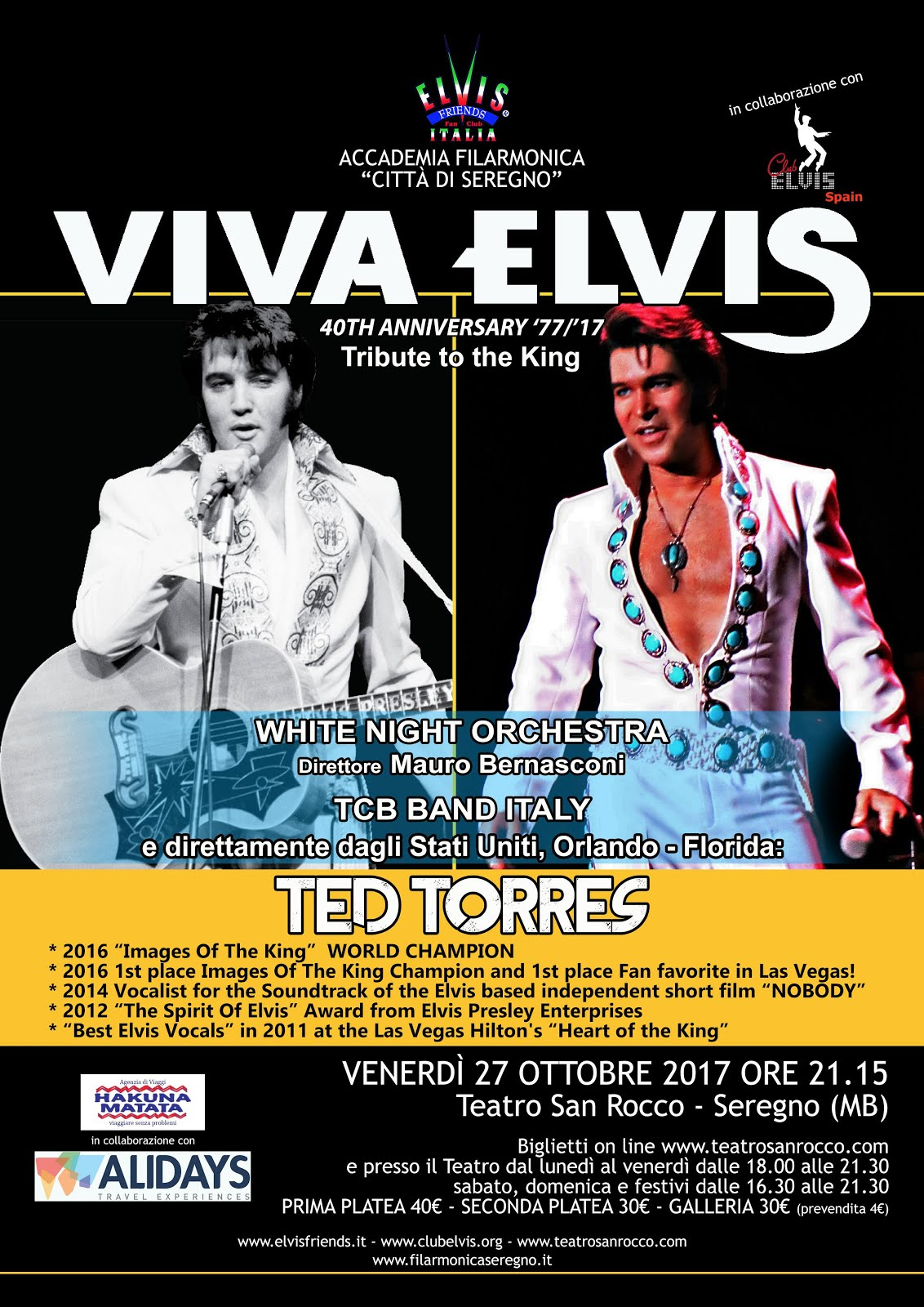 VIVA ELVIS - Elvis tribute