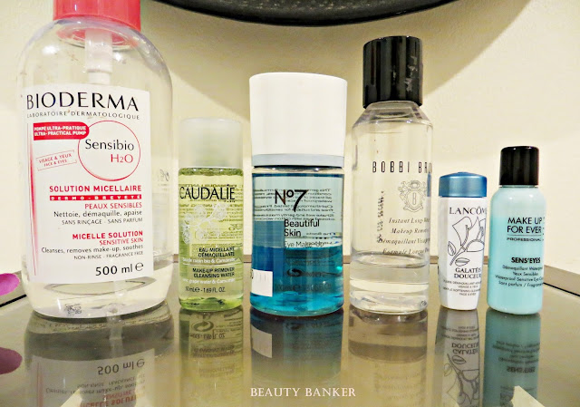 The Beauty Banker Tips on Make Up Removers