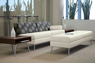 Wind Linear Two Tone Reception Furniture