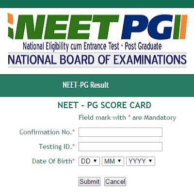 NEET PG Result www-nbe-gov-in-asr-neet-pdf