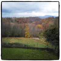 paysage d'automne à Velanne