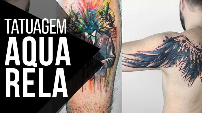 4ec21e4e6 AHHHHH e ainda deixei Indicações de Tatuadores que são Especializados em  Tattoo Aquarela. Bora dar o PLAY pra conhecer um pouco mais sobre o Estilo   GO  o