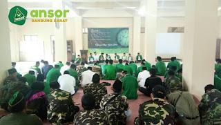 Rakorwil Ansor Jawa Barat di Cijawura 2018