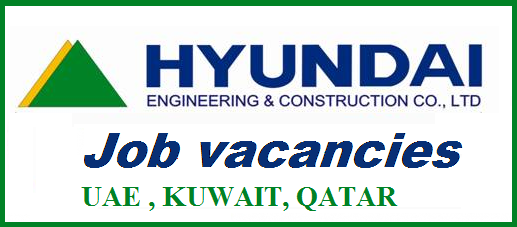 Job vacancies at Hyundai Engineering and Construction Co UAE