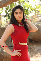 Telugu Actress Zahida Sam Latest Pos in Red Gown at RF Films New Movie Opening  0130.JPG