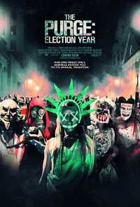 The Purge Election Year 2016 English Movies 300mb CAMRip