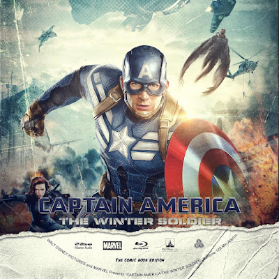 Label Bluray Captain America The Winter Soldier