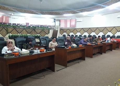 Bapemperda DPRD Kota Palembang Berguru ke Sawahan
