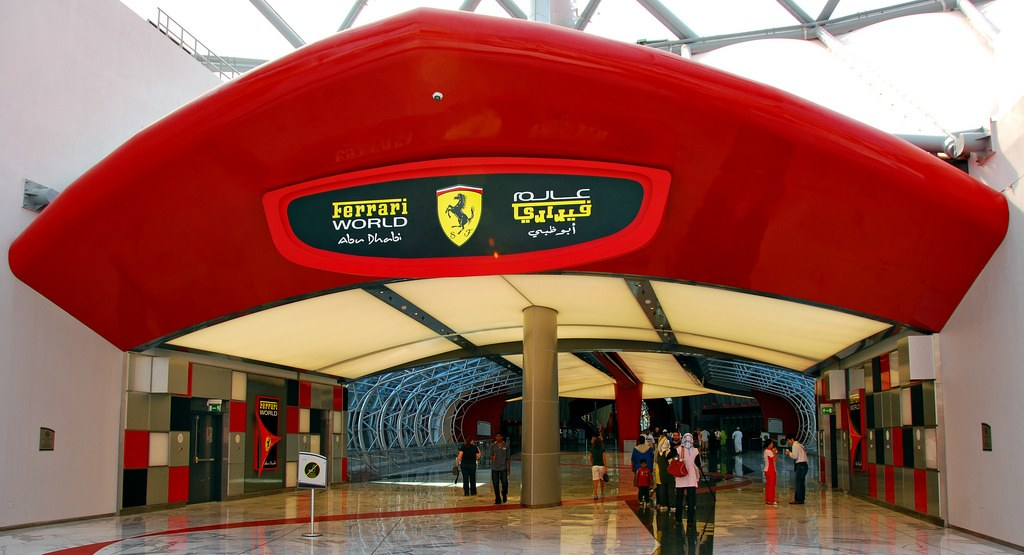 Ferrari World |Top 10 things to do in Abu Dhabi