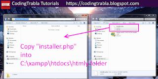 Install HTMLy 2.7.4 flat-file CMS / Blog on Win7 localhost via XAMPP ( PHP7 ) 10