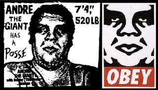 sticker obey de Shepard Fairey