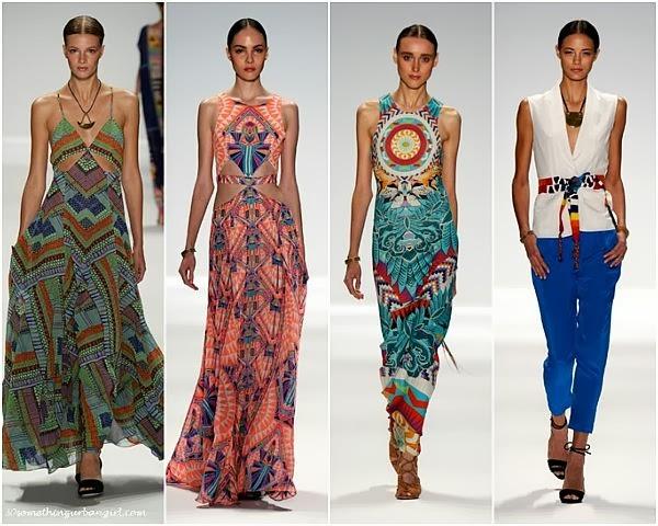MaraHoffman S/S2014 runway dresses