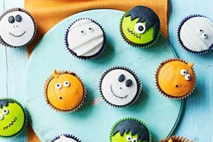Amazing Ghoulish Halloween Cupcakes