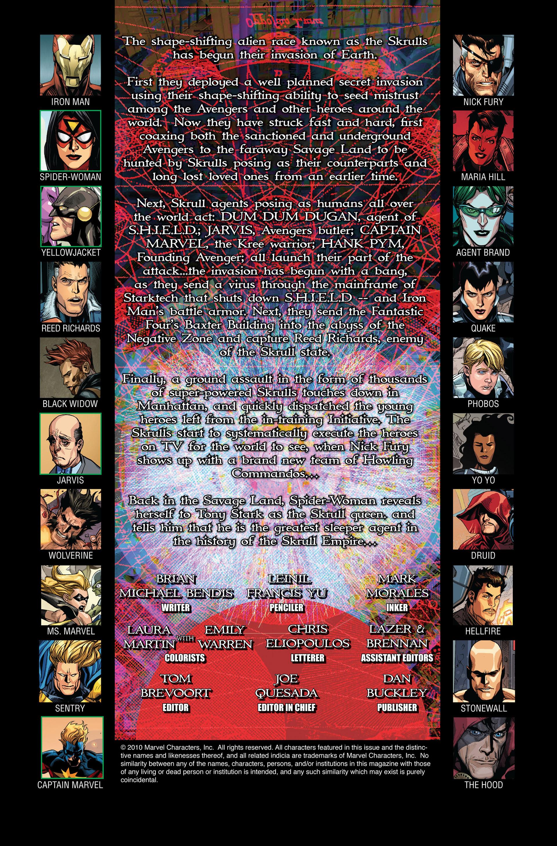 Read online Secret Invasion comic -  Issue #4 - 2