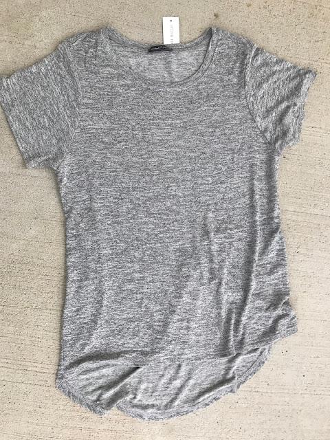 Market & Spruce Sam Hi-Lo Short Sleeve Tee Stitch Fix