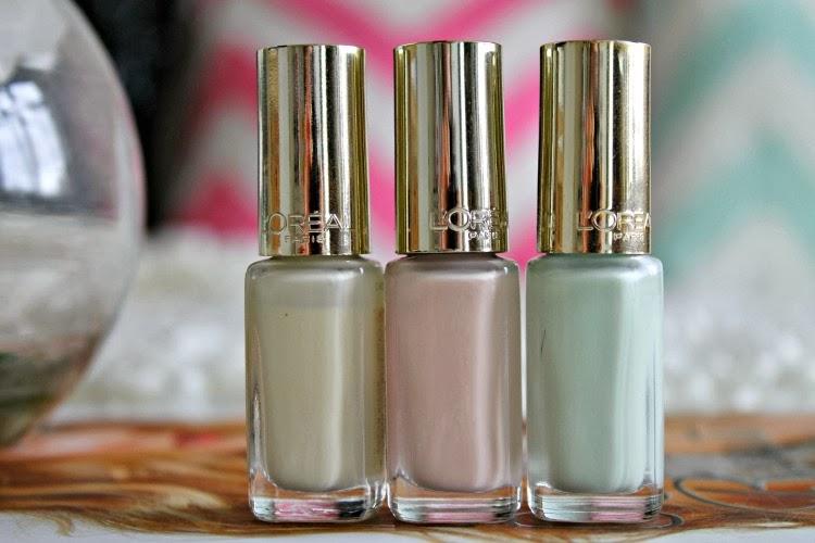 L'Oreal Perfection Colour Riche Nail Polishes