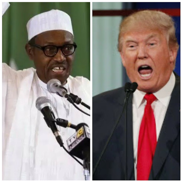 President Donald Trump and Buhari