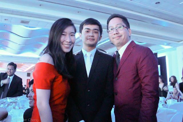 Keshia Ong, Earl Adrian Lim and Renz Cheng