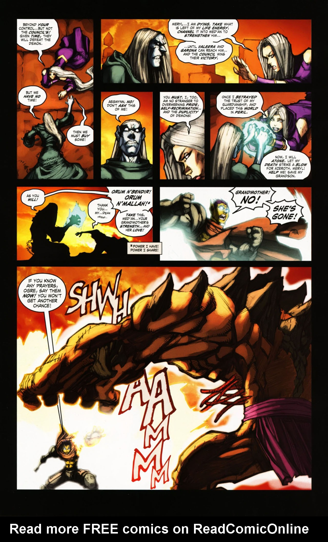 Read online World of Warcraft comic -  Issue #25 - 31