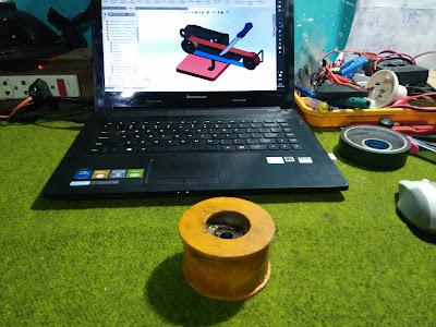 Contoh Roller Belt Sander, roller mesin amplas rakitan