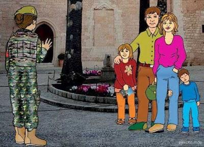 Uniformes militares para Colorear