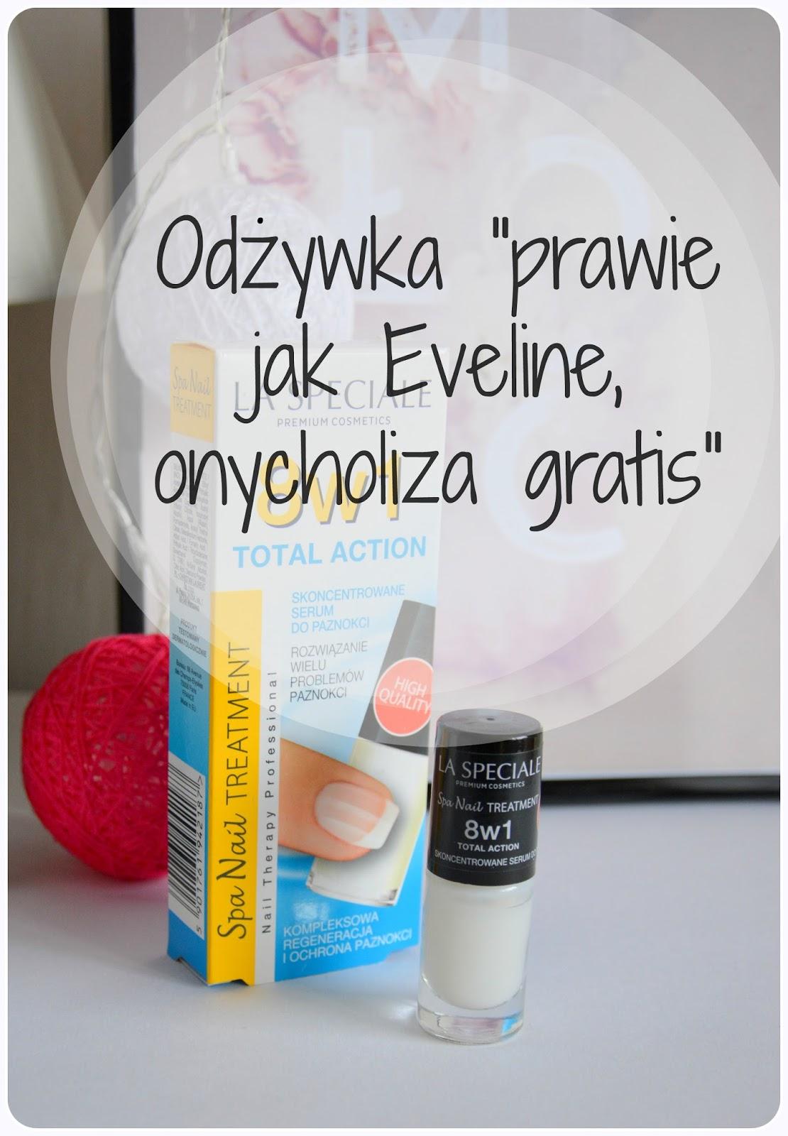 Podrobiona odżywka 8w1 Eveline- La Speciale 8w1 Total Action