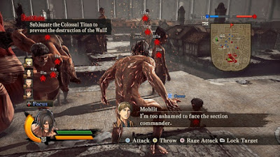 Attack on Titan Wings of Freedom Free Download Game PC Terbaru v11 Latest Version