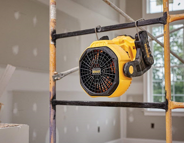 worksite fan battery powered dewalt