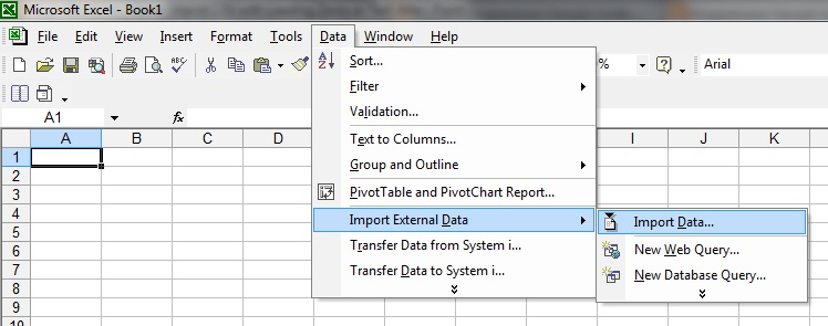 Programmers Sample Guide: Import a CSV File into EXCEL