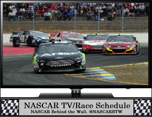 behind the wall 2016 sonoma nascar schedule toyota save mart 350. Black Bedroom Furniture Sets. Home Design Ideas