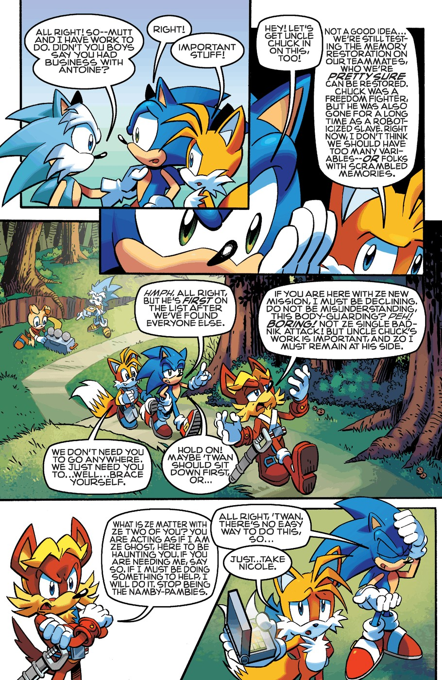 Read online Sonic The Hedgehog comic -  Issue #254 - 10