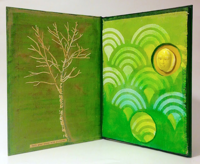 altered book by lisa fulmer