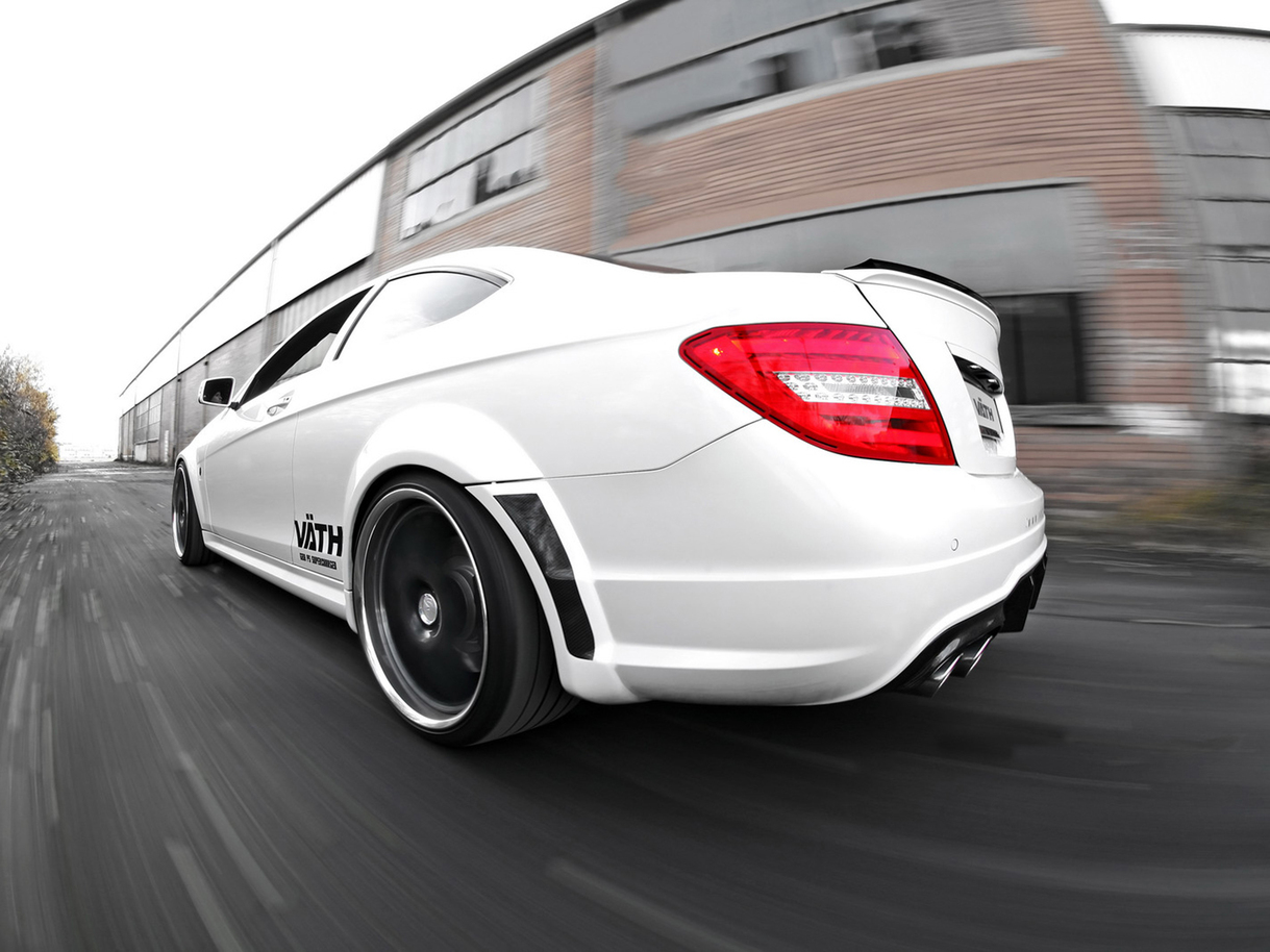 benztuning mercedes benz c63 coupe amg by vaeth. Black Bedroom Furniture Sets. Home Design Ideas
